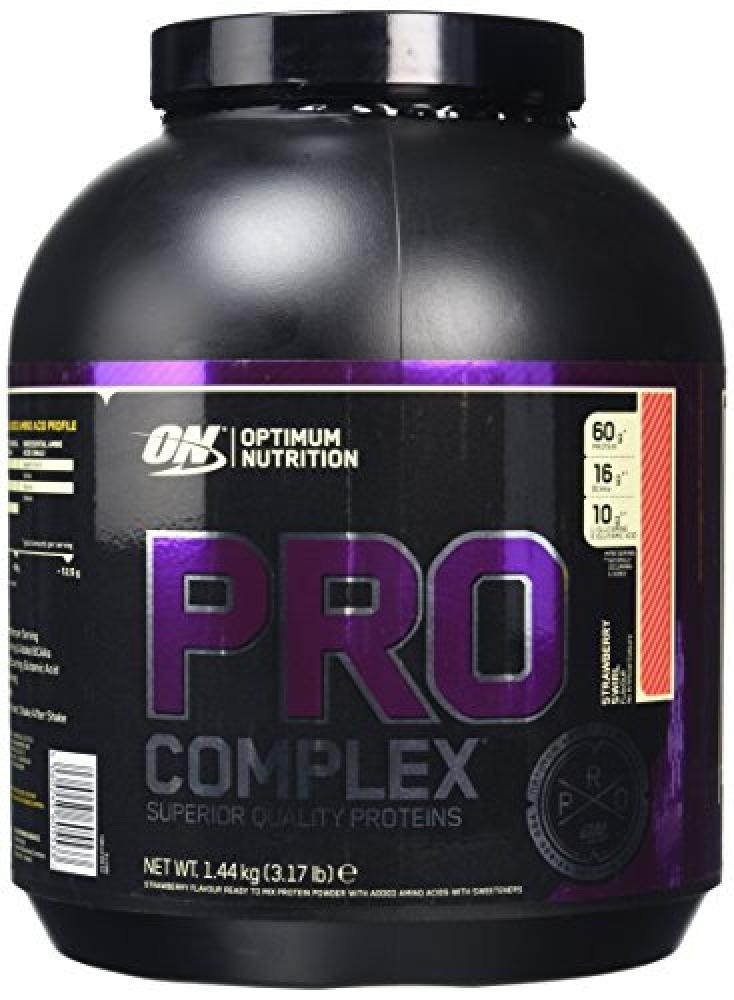 Optimum Nutrition Pro Complex Protein Powder 1.44 kg - Strawberry