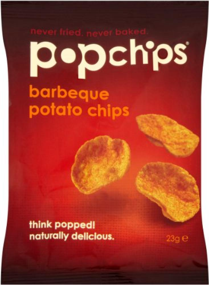Popchips Barbeque Potato Chips 23g