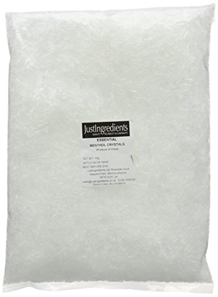 JustIngredients Essential Menthol Crystals 1 kg