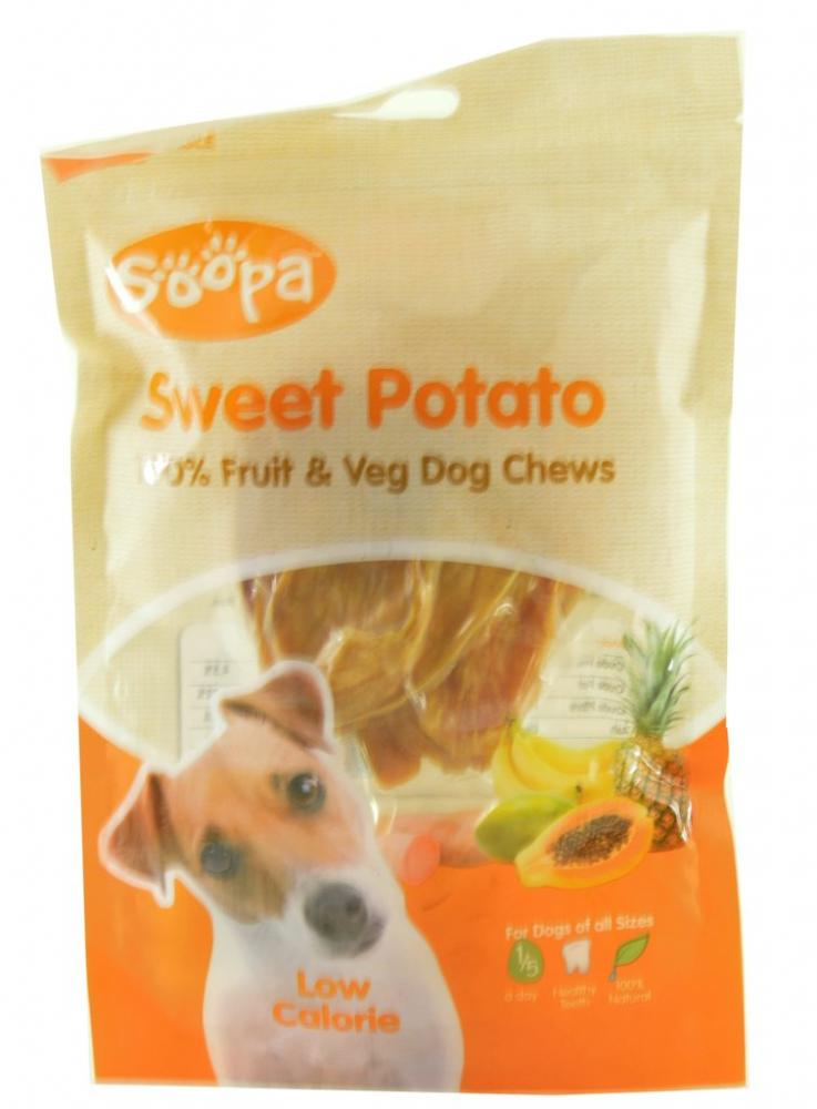 Soopa Sweet Potato Fruit and Veg Dog Chews 100g