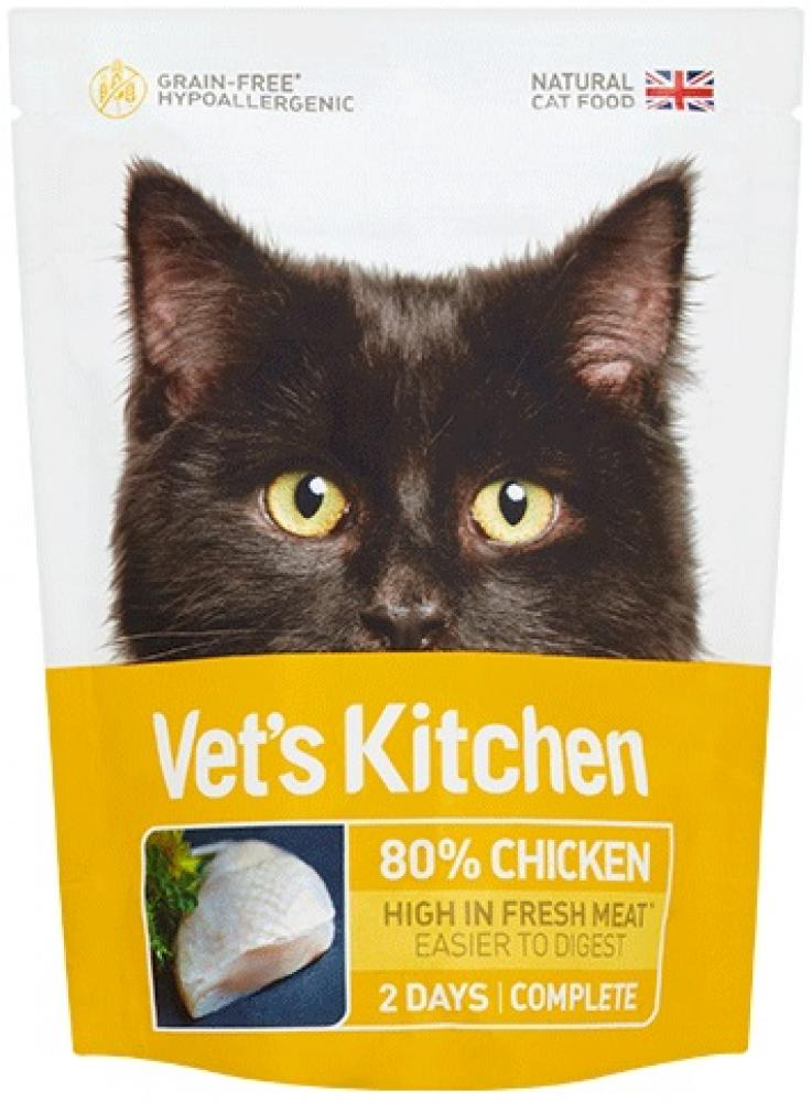 FURTHER REDUCTION  Vets Kitchen Chicken Cat Food 110g