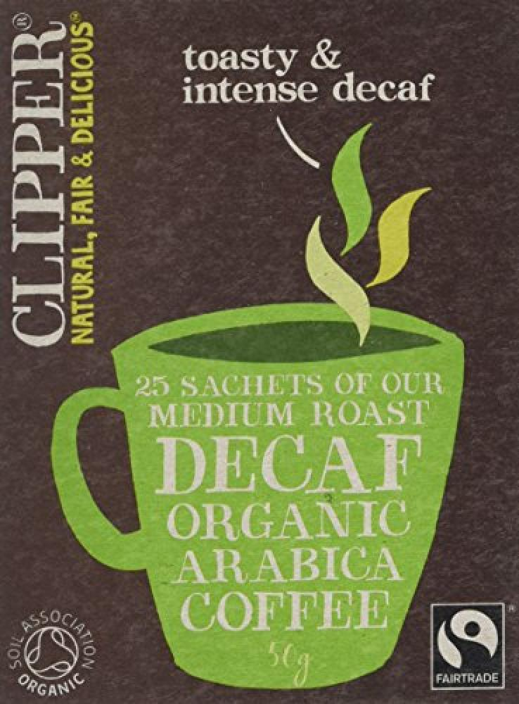 Clipper Medium Roast Decaf Organic Arabica Coffee 50 g
