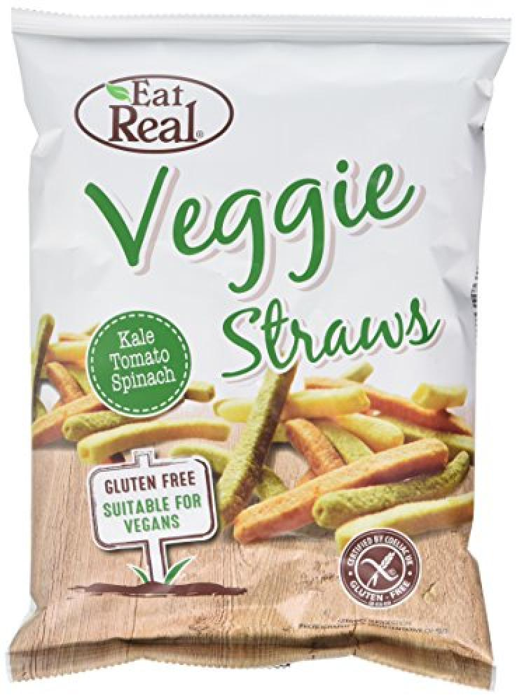 Eat Real Veggie and Kale Straws 45g