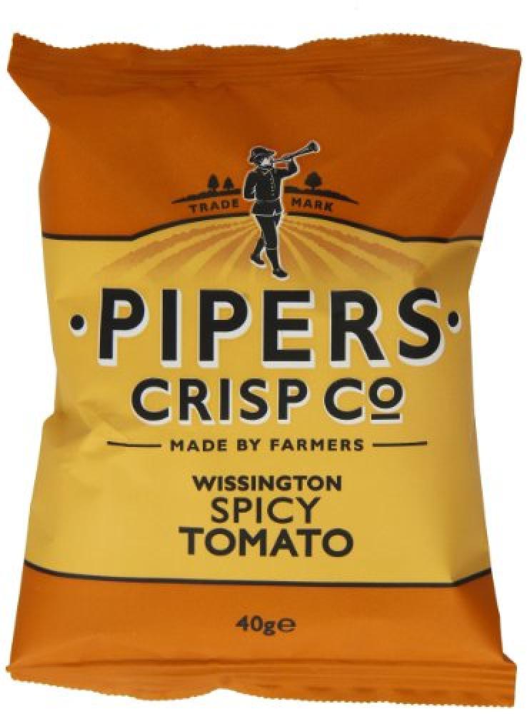 Pipers Crisp Co Wissington Tomato 40g