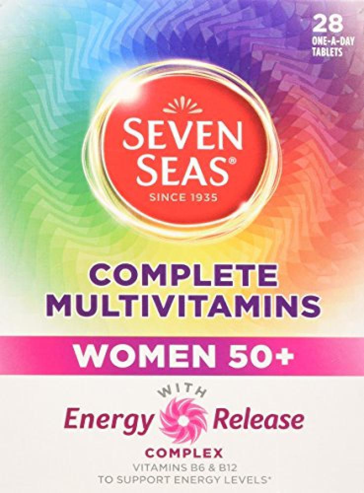 Seven Seas Limited Complete Multivitamins Women 50 28 Tablets