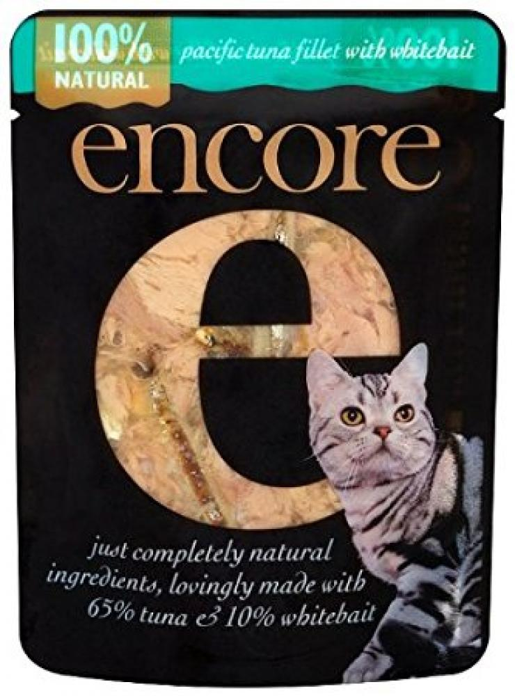 Encore Cat Food Pouch Tuna and Whitebait 70 g