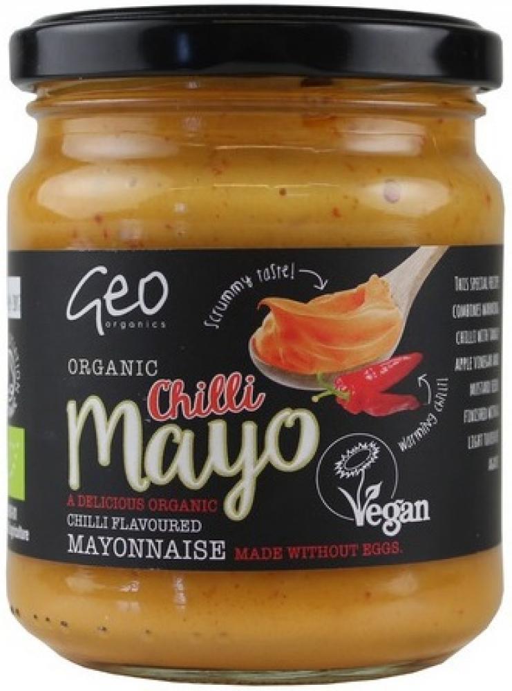 Geo Organics Chilli Mayo 232g