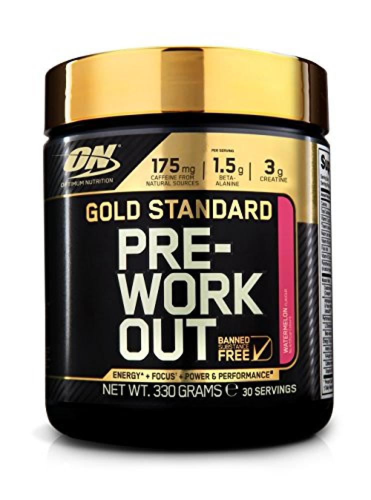 Optimum Nutrition Gold Standard Pre-Workout Supplement - Watermelon 330 g