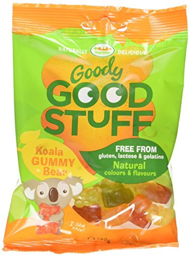Goody Good Stuff Koala Gummy Bears Vegetarian Sweets 100 g
