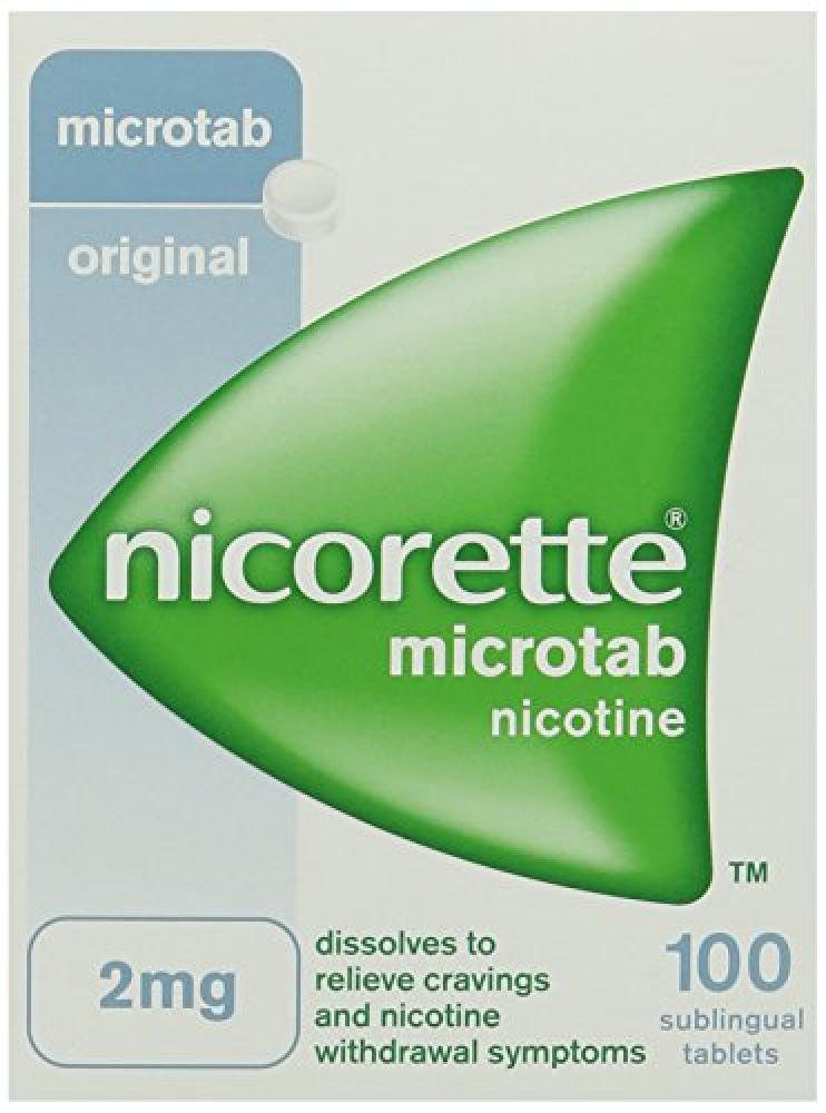 Nicorette Microtab 2 mg 100 Tablets