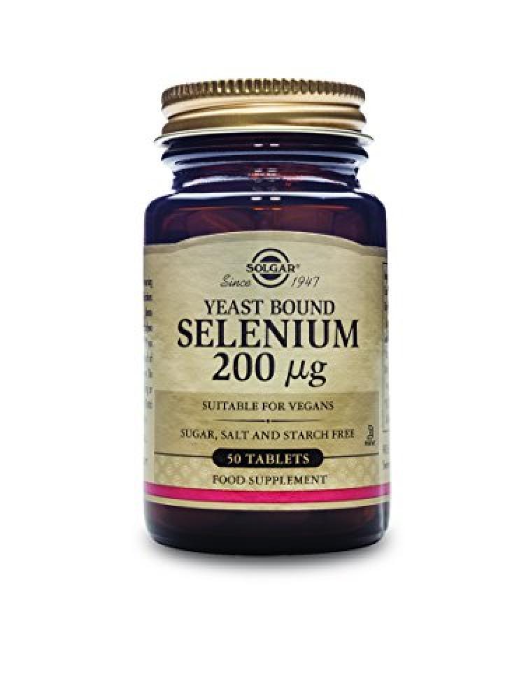 Solgar Selenium 200 MCG (50 Tablets)