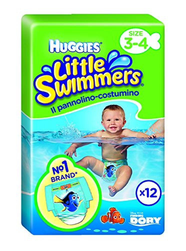 Huggies Little Swimmers Size 3 to 4 Pack Of 12