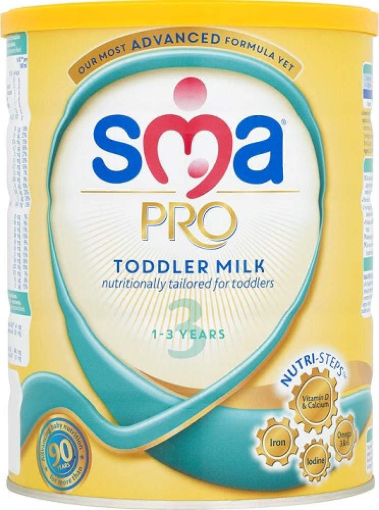 SMA Pro Stage 3 Toddler Milk 1 to 3 Years 800g