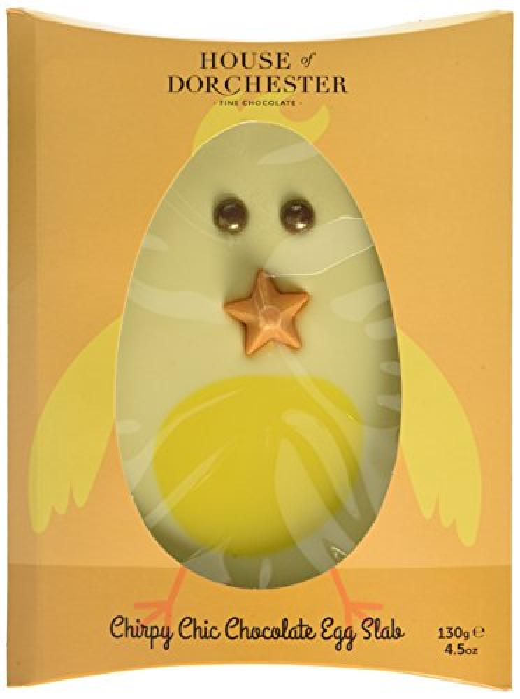 House Of Dorchester Chirpy Chic Chocolate Egg Slab130 g