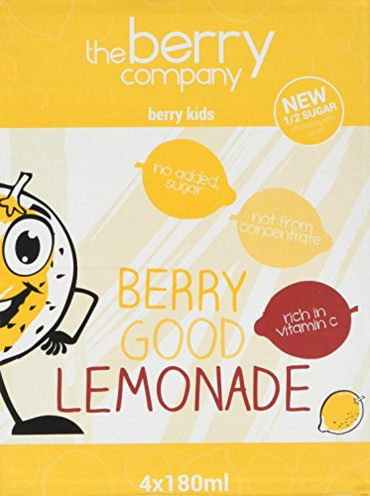 The Berry Company Lemonade 4x180g