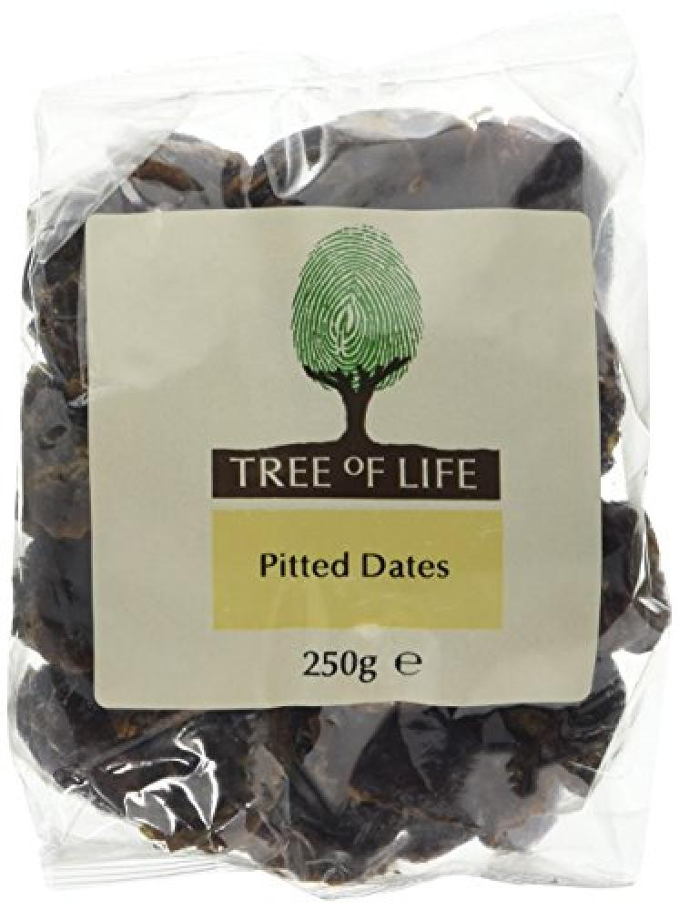 Tree Of Life Select Dates - Pitted - 250g