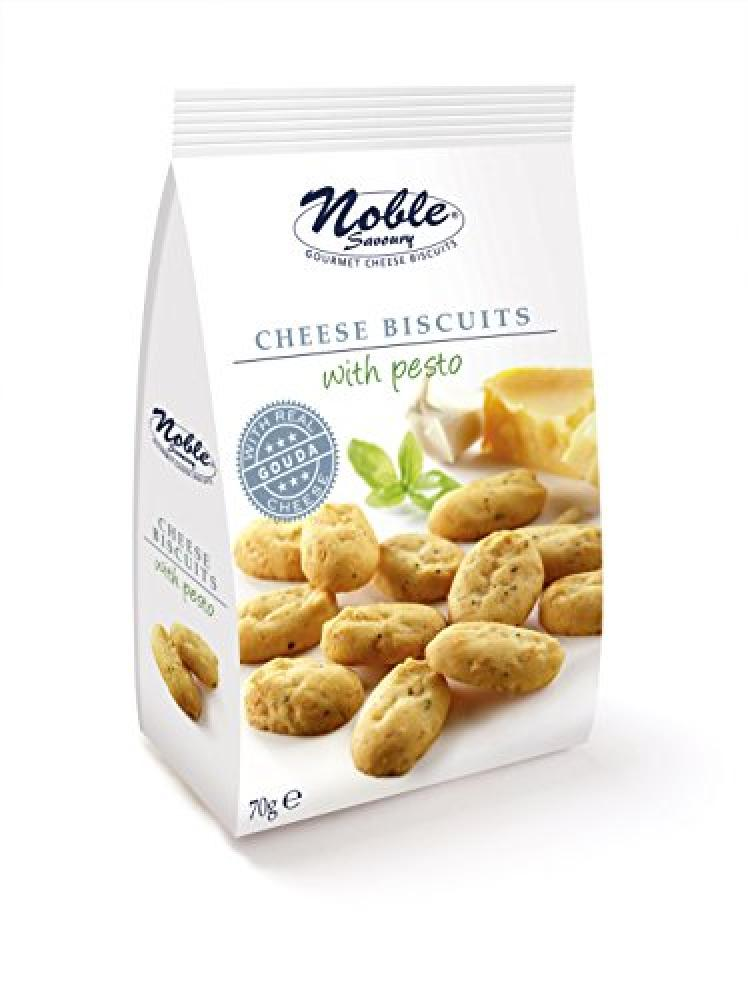Noble Gouda Cheese Biscuits Bag with Pesto 70 g
