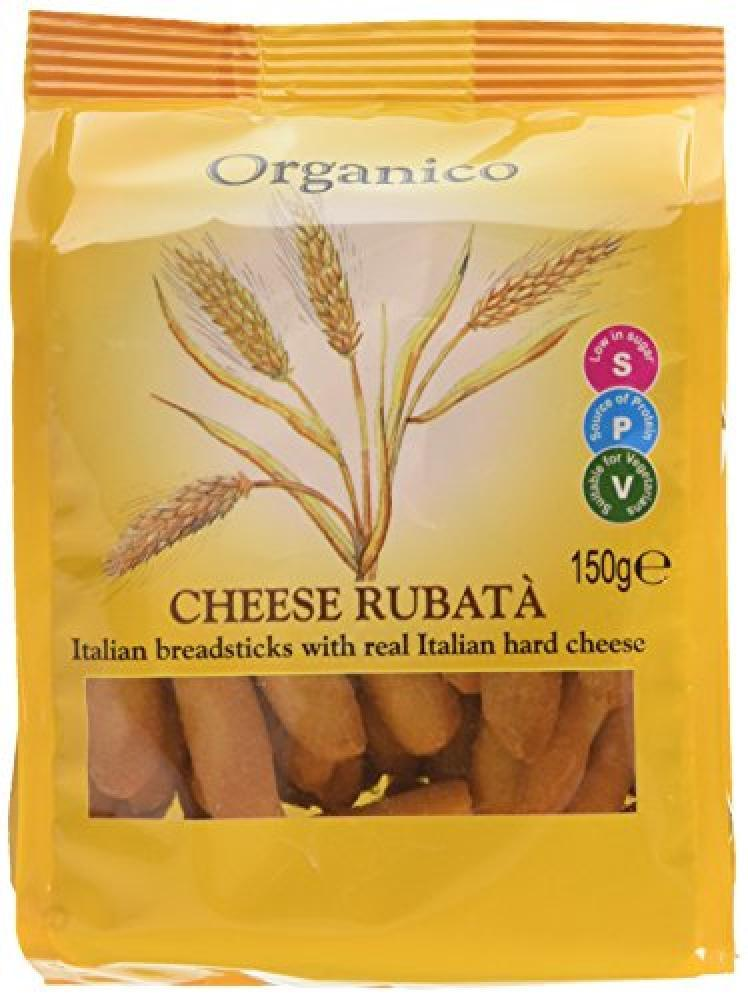 Organico Cheese Rubata Breadsticks 150g