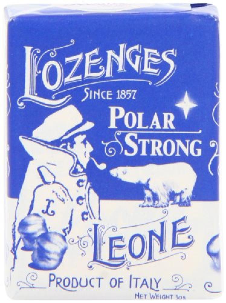 Pastigile Leone Leone Polar Strong Pastilles 30g