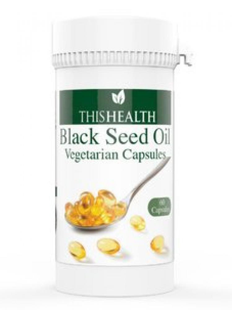 This Health Black Seed Oil Vegetarian 60 Capsules