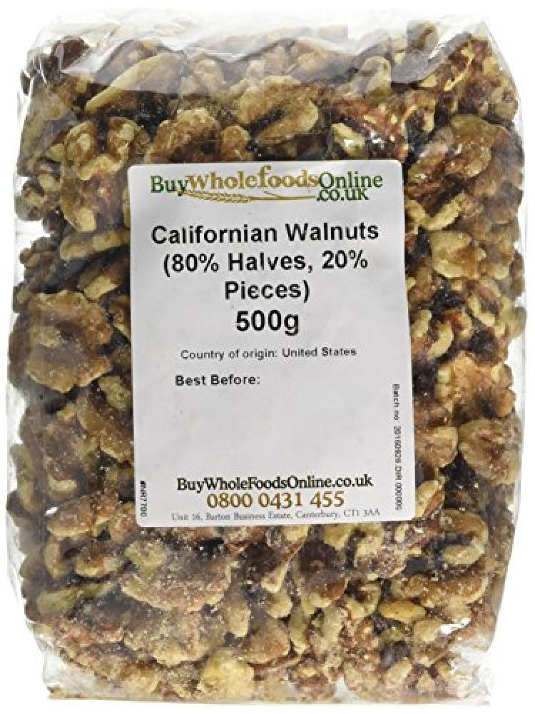 Buy Whole Foods Californian Walnuts 500g