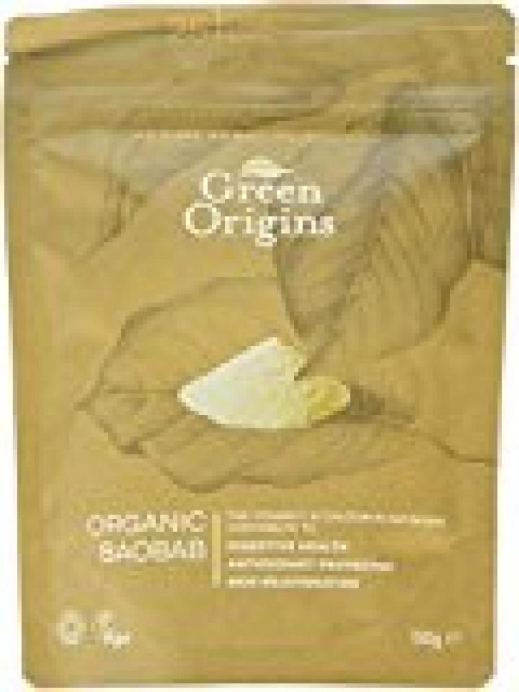 Green Origins Organic Raw Baobab Powder 150g