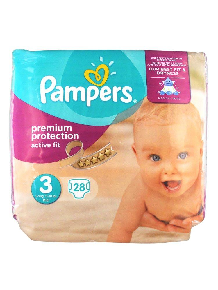 Pampers Active Fit Size 3 pack of 28
