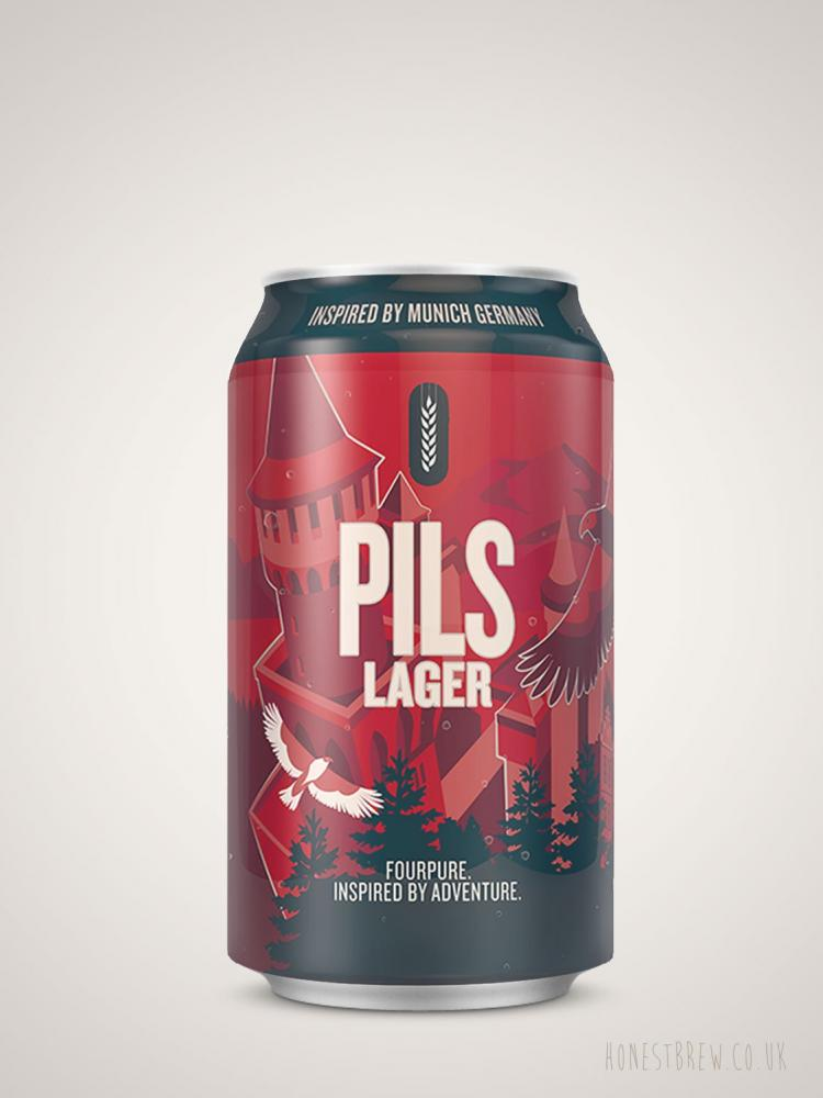 SALE  Fourpure Brewing Co Pils Lager Can 330 ml