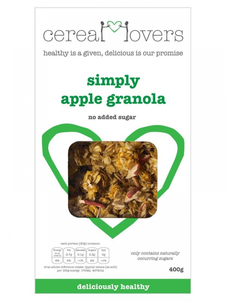 Cereal Lovers Simply Apple Granola 400g