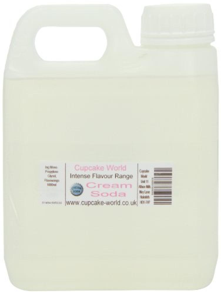 Cupcake World Intense Food Flavouring Cream Soda 1 Litre