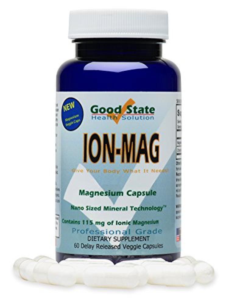 Good State ION-MAG - Ionic Magnesium Capsules 60 Capsules