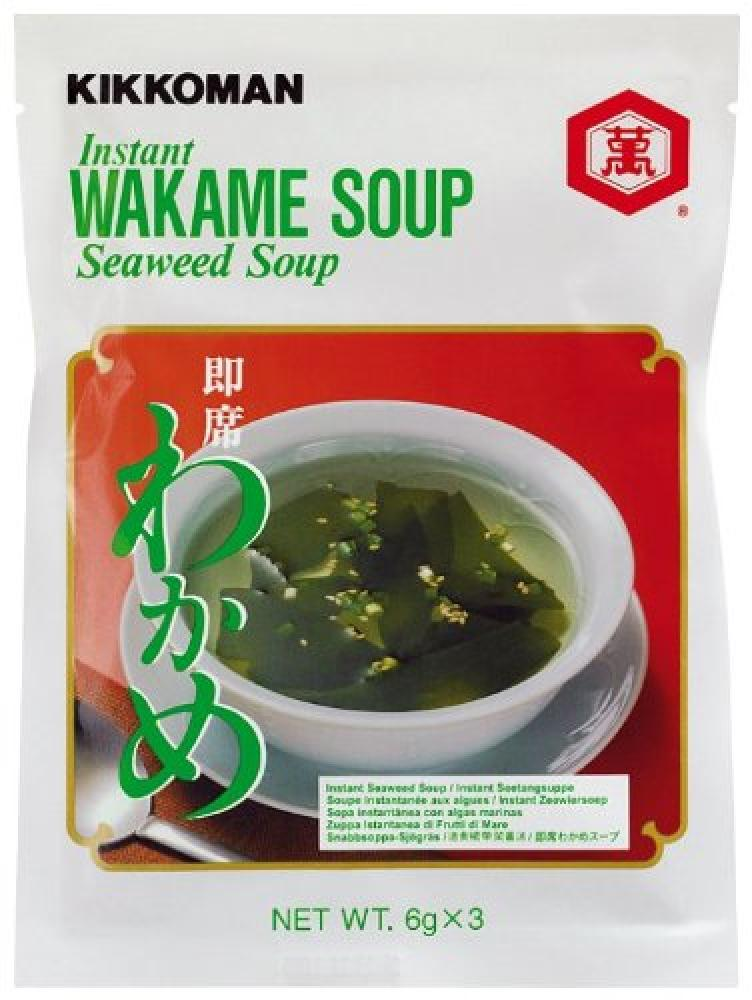 Kikkoman Instant Wakame Soup Sachets 18 g