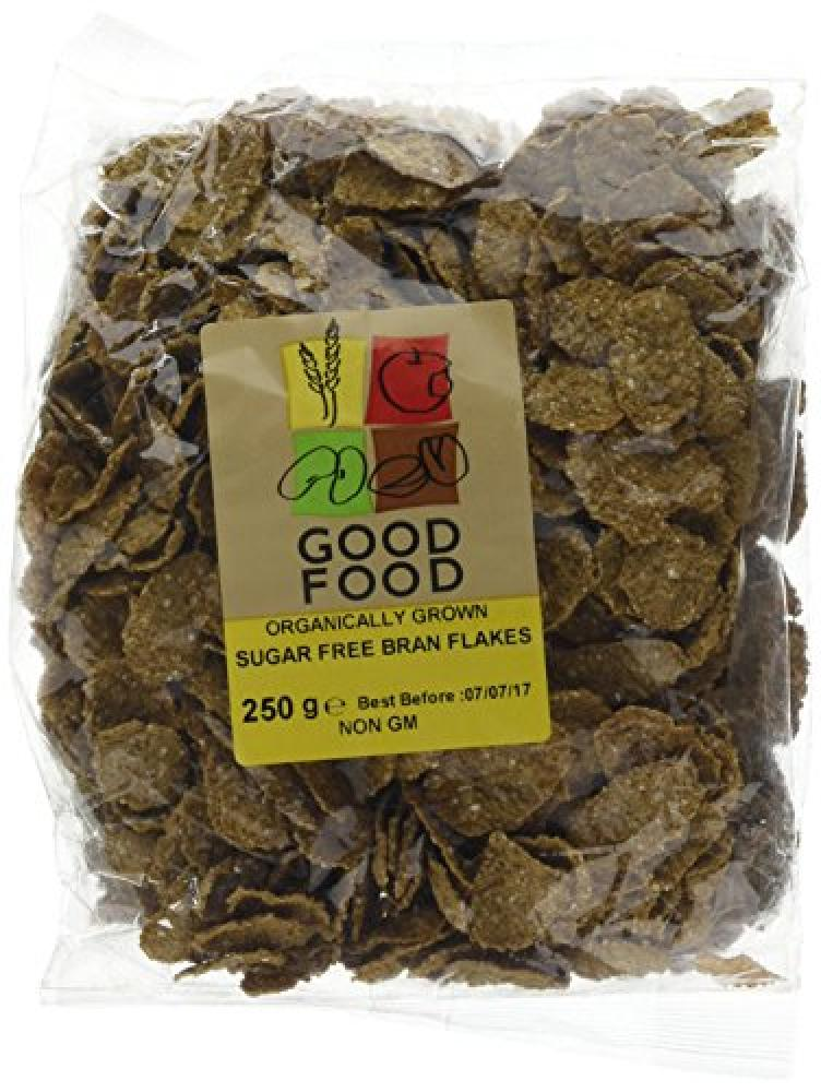Mintons Good Food Pre-packed Organic Bran Flakes
