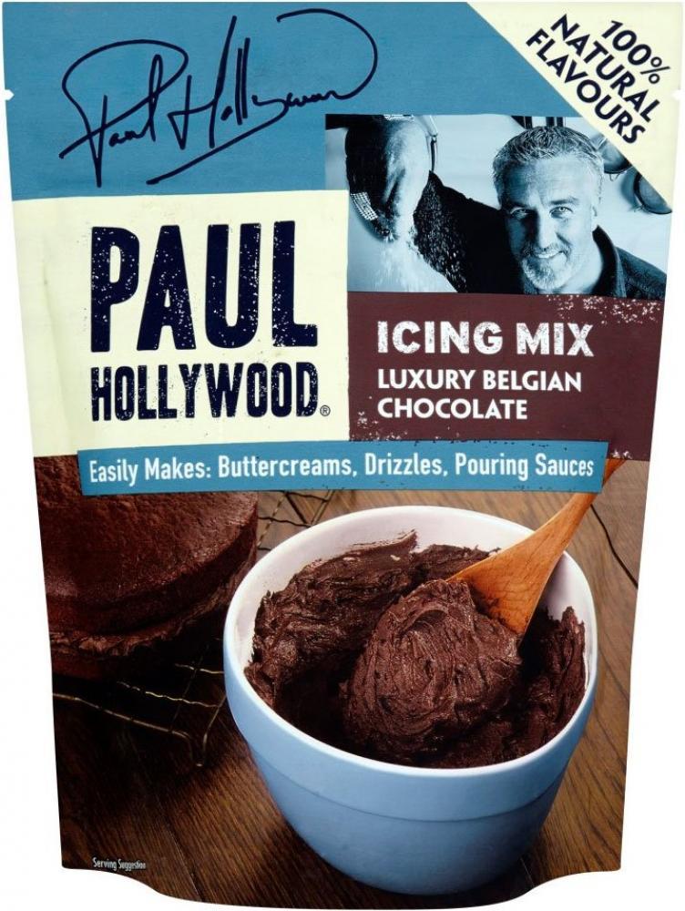 Paul Hollywood Luxury Belgian Chocolate Icing Mix 270g