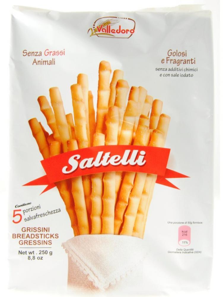 Valledoro Saltelli Grissini Breadsticks 250g