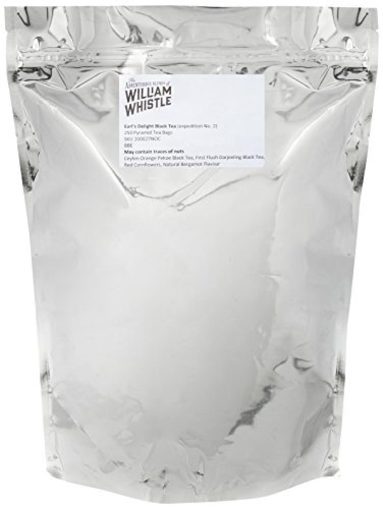 William Whistle Earls Delight Pyramid Teabags 625 g