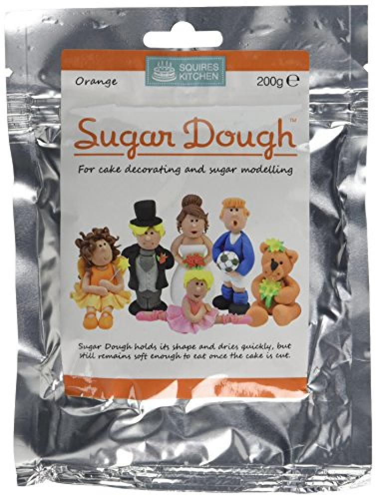 Squires Kitchen Orange Sugar Dough 200g