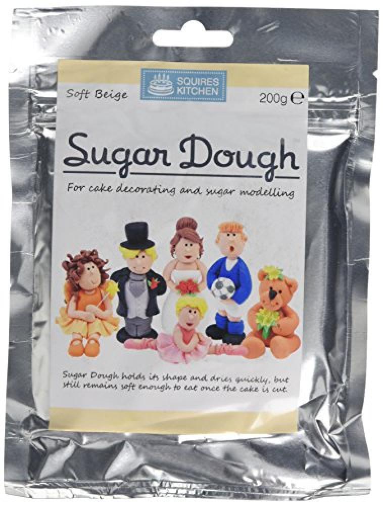Squires Kitchen Soft Beige Sugar Dough 200 g