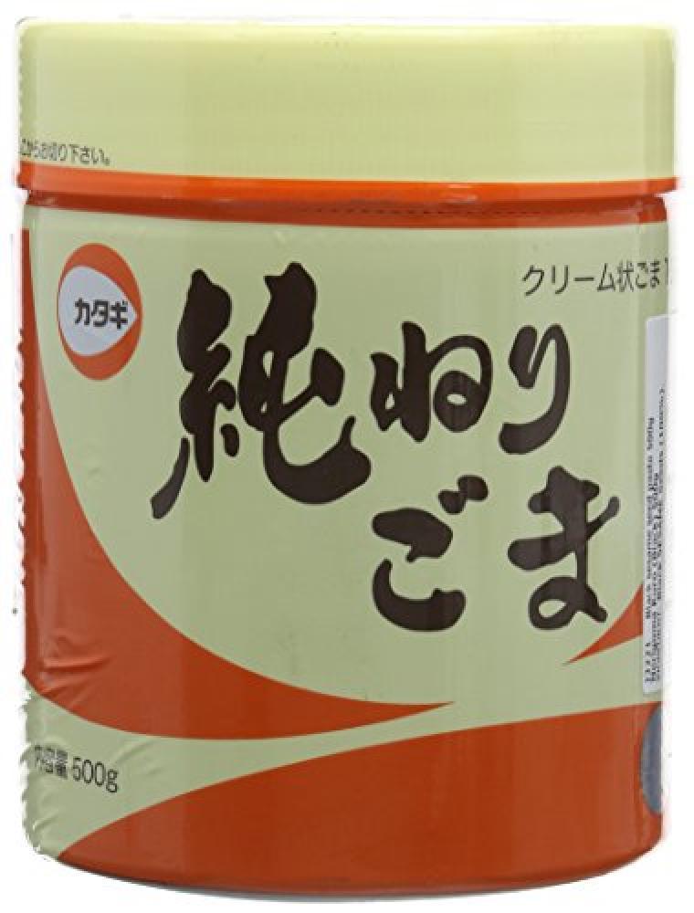 Katagi Nerigoma Kuro Black Sesame Paste 500 g