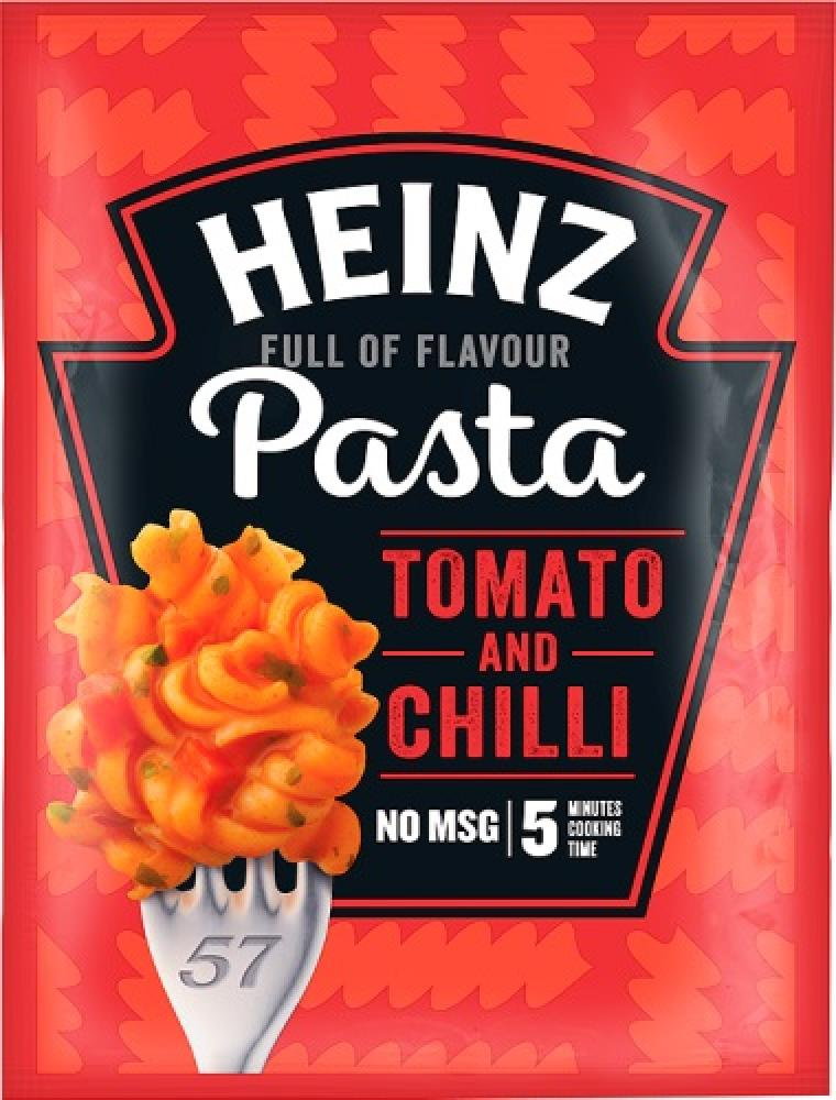 Heinz Pasta Tomato and Chilli 58g