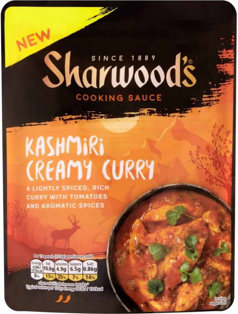 Sharwoods Kashmiri Creamy Curry Sauce 250g