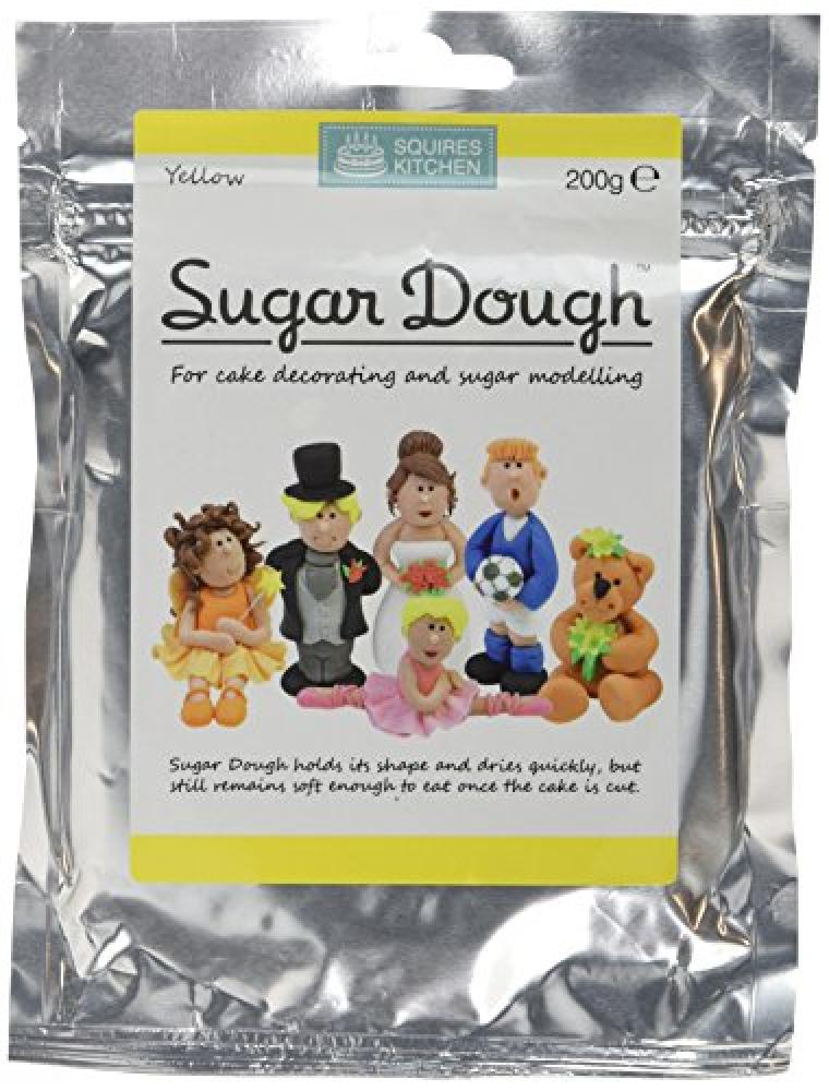 Squires Kitchen Yellow Sugar Dough 200 g