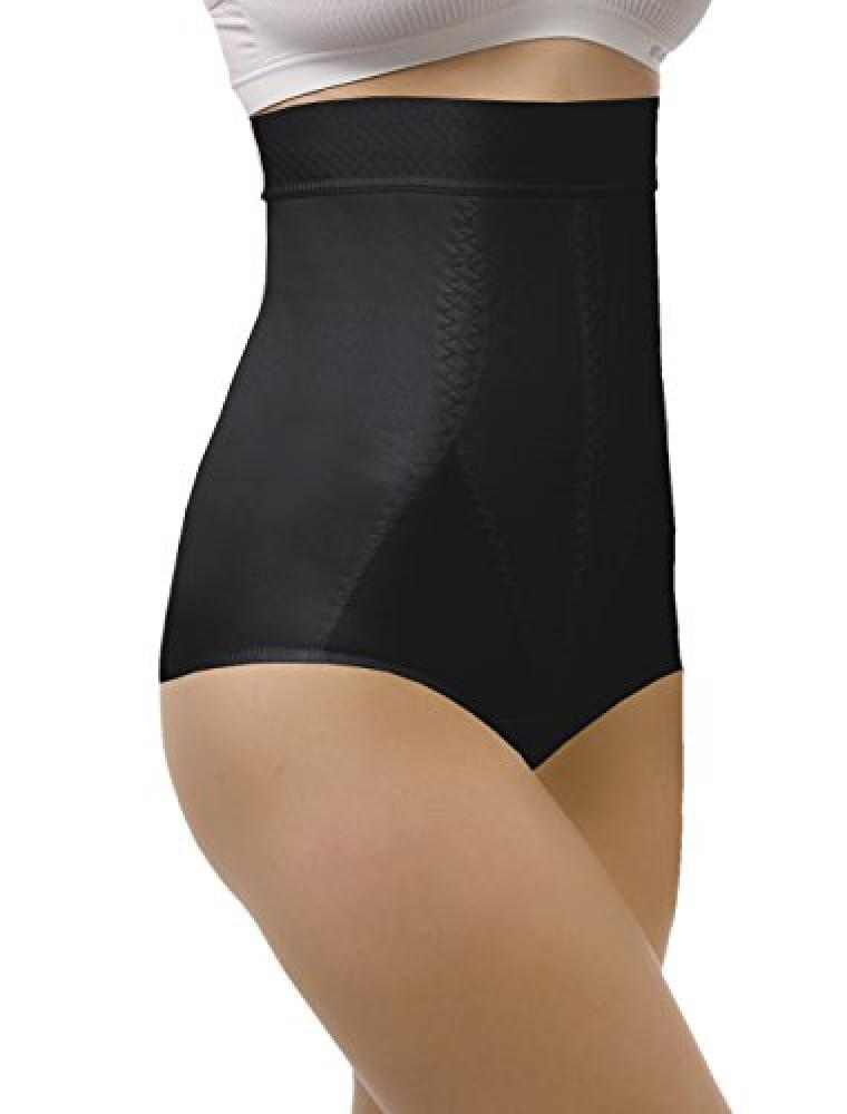 Tonus Elast High Waist Postpartum Recovery Panties Tummy Forming Girdle Body Shaper (M Black)