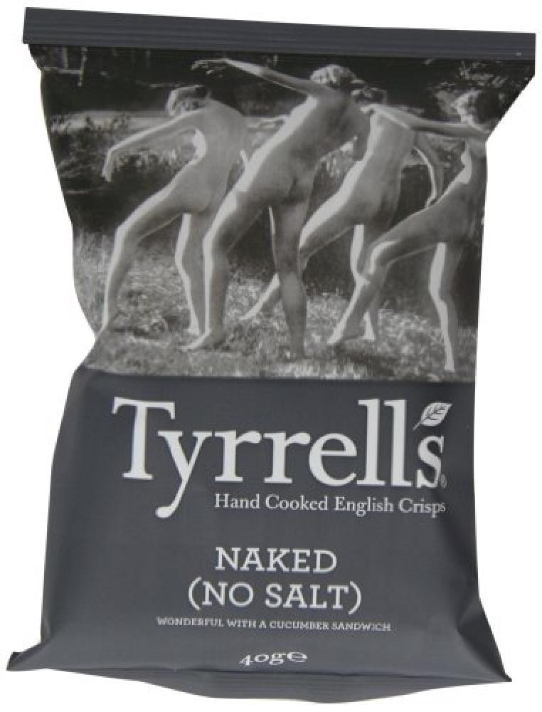 Tyrrells Naked Crisps 40g