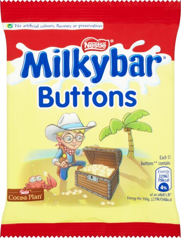 Nestle Milkybar Buttons 30g 30g 30g
