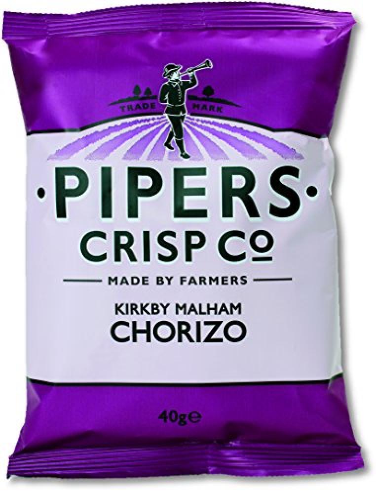 Pipers Crisps Kirkby Malham Chorizo 40g