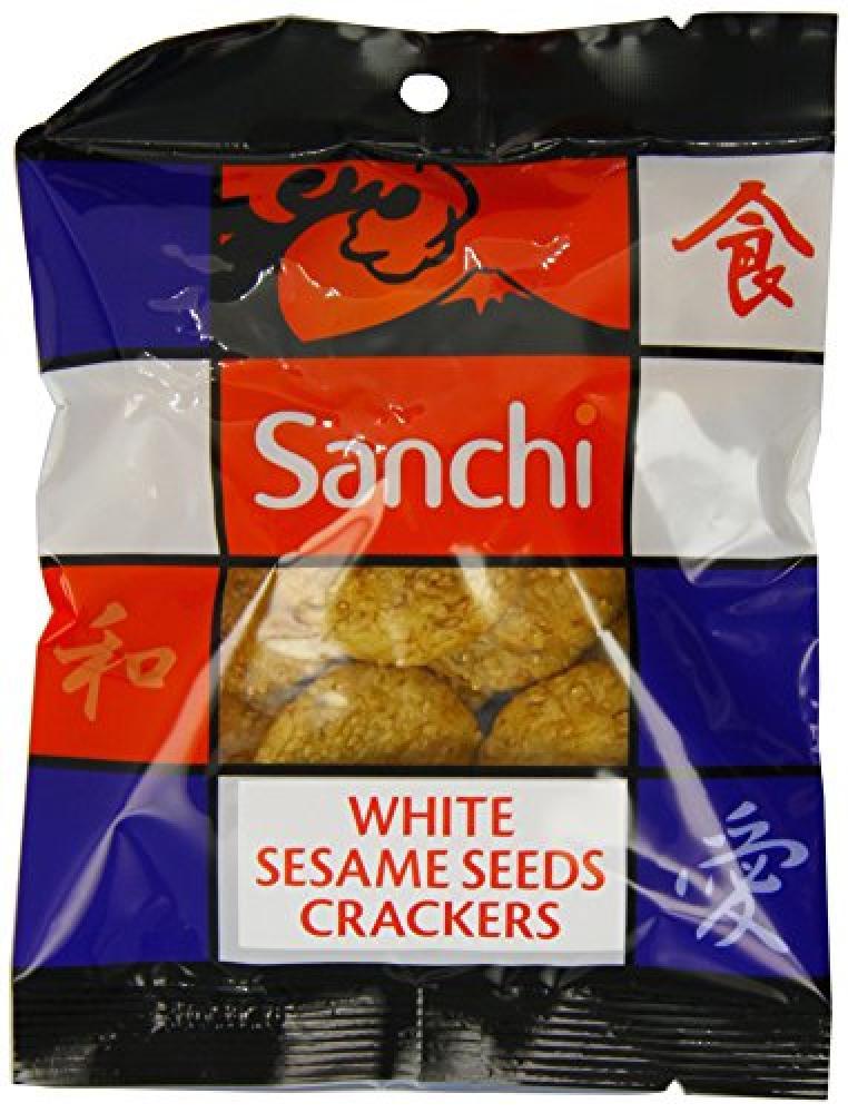 Sanchi White Sesame Crackers 50 g
