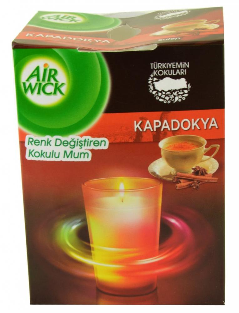 Air Wick Cinnamon Scented Candle 155g Approved Food