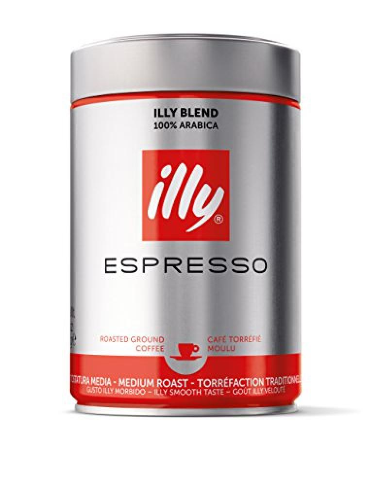Illy Espresso Medium Roast Ground Coffee 250g