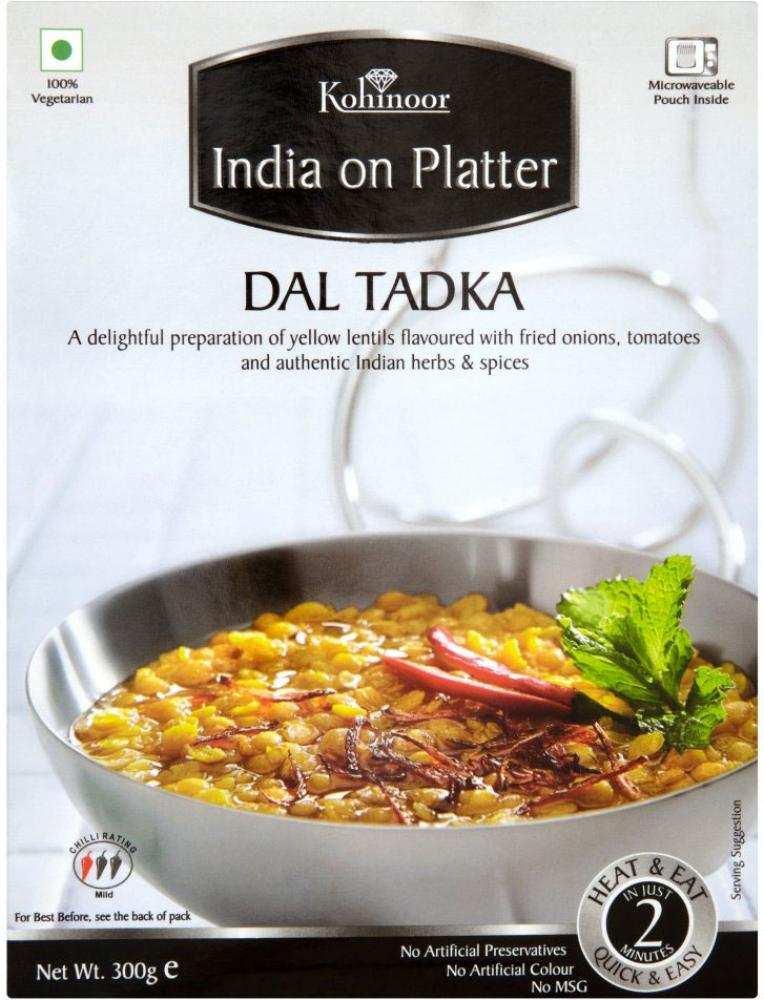 Kohinoor India On Platter Dal Makhani 300g